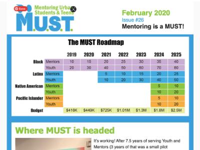 February 2020 Newsletter Cover