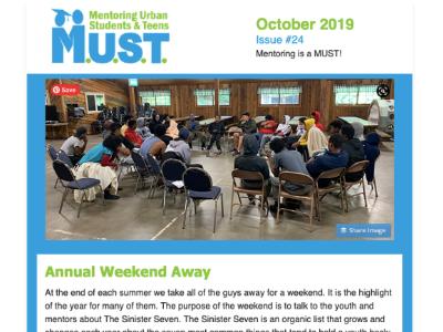 October 2019 Newsletter Cover
